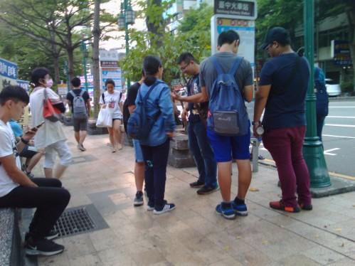 台湾の10月の服装‐トップス