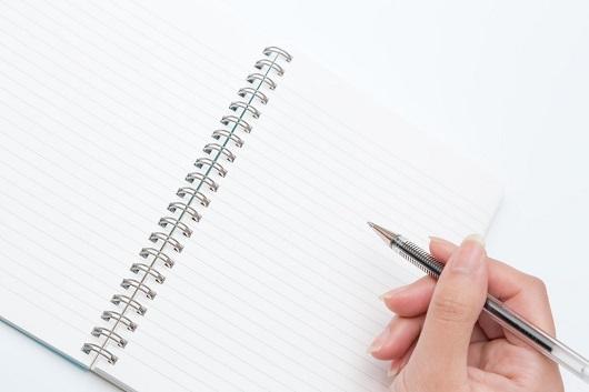 notebook&pen