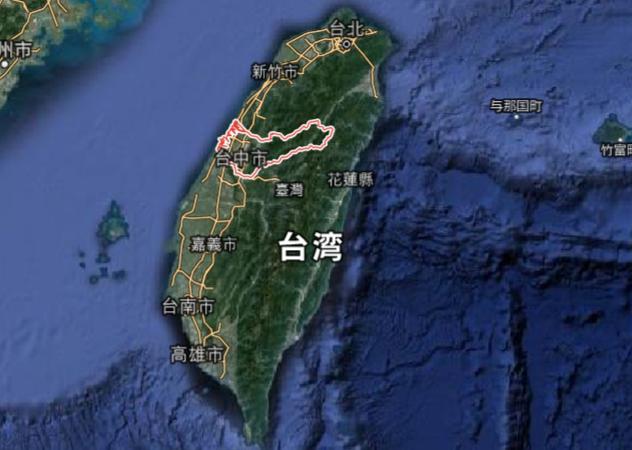 taichung-map