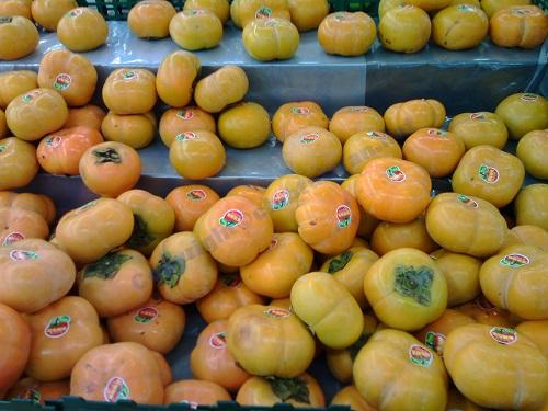 台湾の果物‐柿